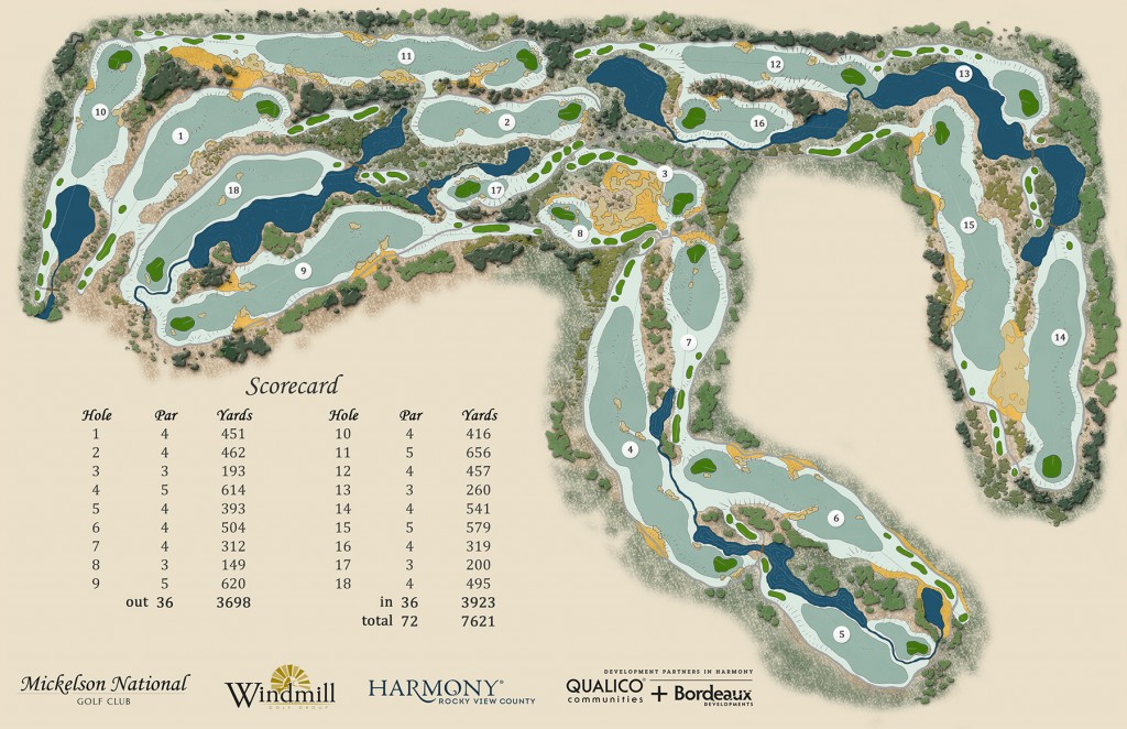 Phil Mickelson National Golf Club Course Layout