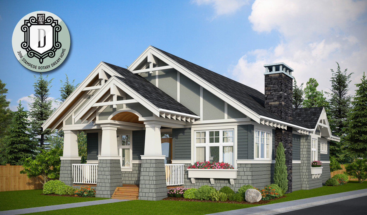 Community Of The Calgary Stampede Rotary Dream Home Live