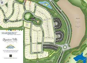 Harmony Villa Lot Map