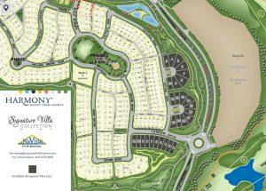 Harmony Villa Lot Map